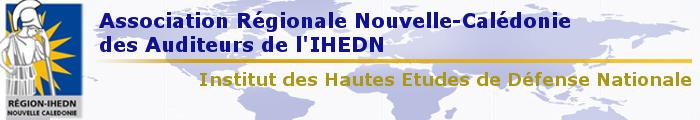 Association Régionale Nouvelle-Calédonie des auditeurs de l'IHEDN Logo